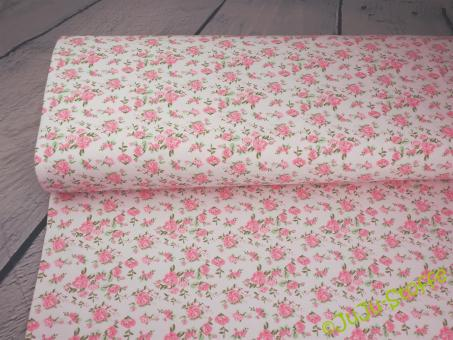 """Jersey mit Duft """"Roses"""" rosa"""