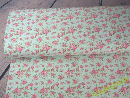 """Jersey mit Duft """"Roses"""" mint"""