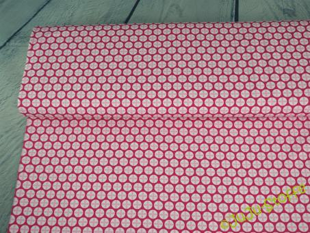 """Jersey """"Lotus Dreams"""" Muster pink Öko-Tex"""
