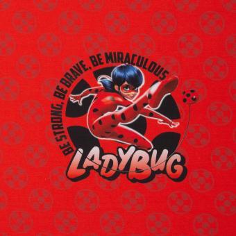 "Jersey-Panel ""Miraculous"" Ladybug Öko-Tex"