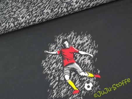 """Jerseypanel """"Fußball"""" von Steinbeck Öko-Tex"""