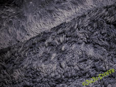 "Fleece ""Fluffy"" Langhaar dark mauve"