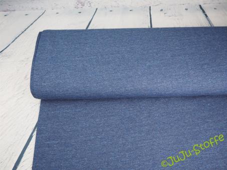 Sweat meliert blau Öko-Tex