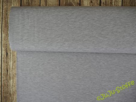 Viskose-Jersey meliert grau Öko-Tex