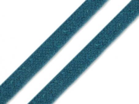 Kordel flach türkisblau 10mm