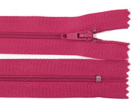 Reißverschluss 25 cm pink paradise