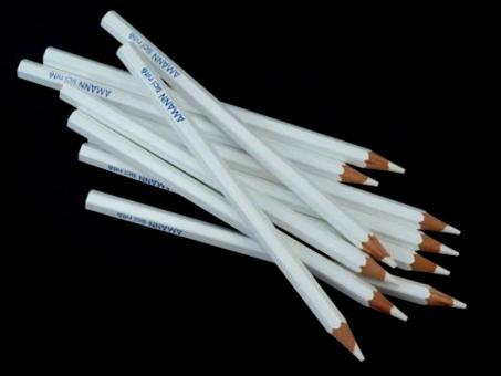 Schneiderkreide Stift von Amann weiß