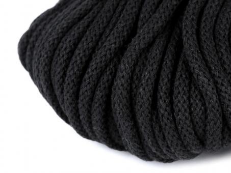 Kordel schwarz 5mm
