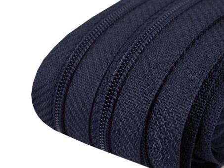 Endlos-Reißverschluss dunkelblau