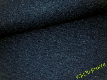 Stepp-Sweat dunkelblau meliert Öko-Tex