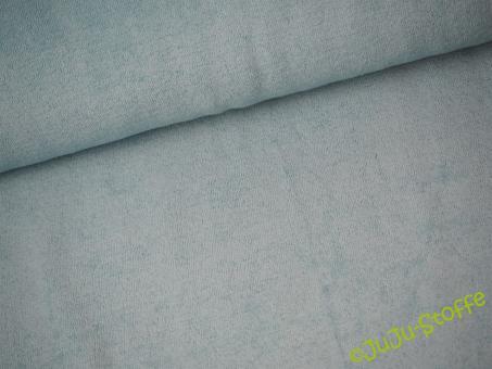 Sommerfrottee hellblau Öko-Tex