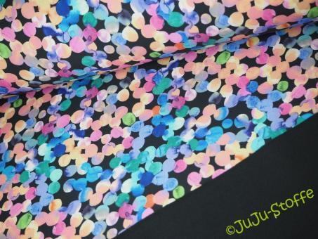 """Softshell """"Watercolor Dots"""" Öko-Tex"""