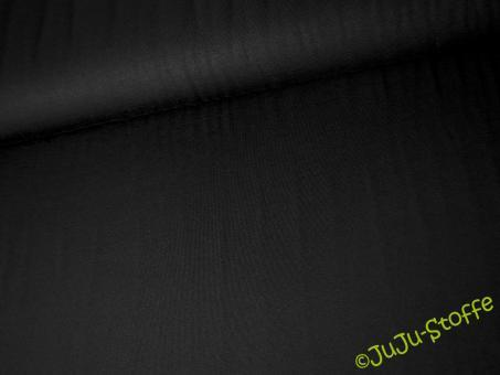 Modal Jersey uni schwarz