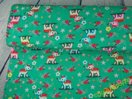 """Jersey """"Elephant Paradise"""" v. Fiona Hewitt Öko-Tex"""