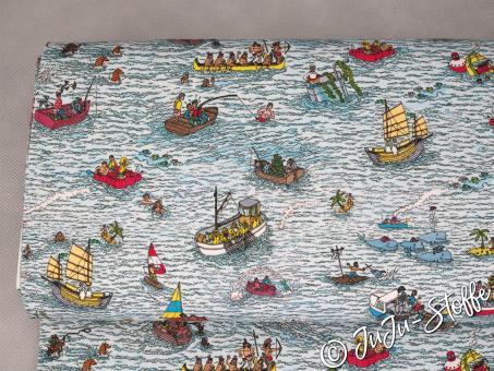 """Jersey """"Wo ist Walter?"""" Seefahrt Öko-Tex"""