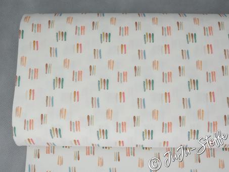 """Bio Jersey """"Watercolour Stripes"""" GOTS"""