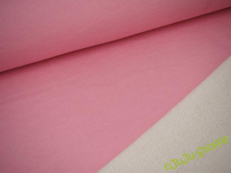 Baumwoll-Lammfleece rosa Öko-Tex