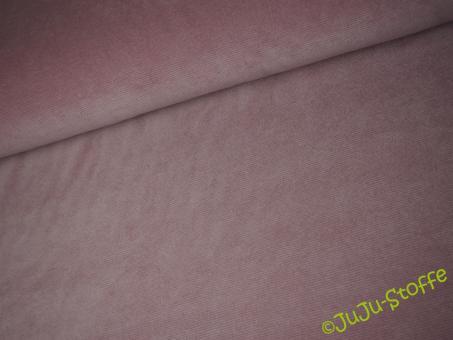 Cordjersey Stretch rosa Öko-Tex