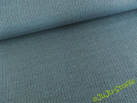 Knit Knit Jacquard Jersey garda / blue navy BIO