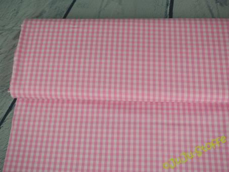 Baumwolle Vichy Karo groß, hellrosa
