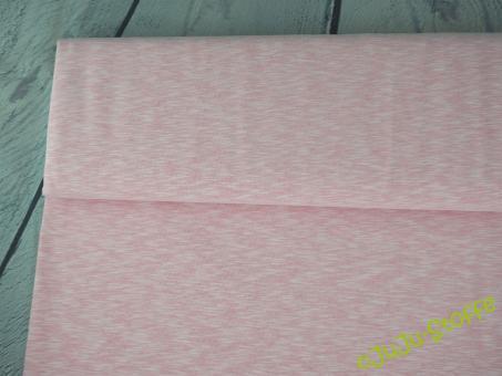Sommer-Sweat rosa weiß meliert