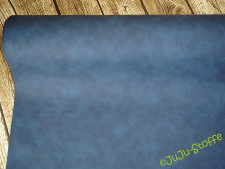 """Kunstleder """"Florenz"""" blau"""