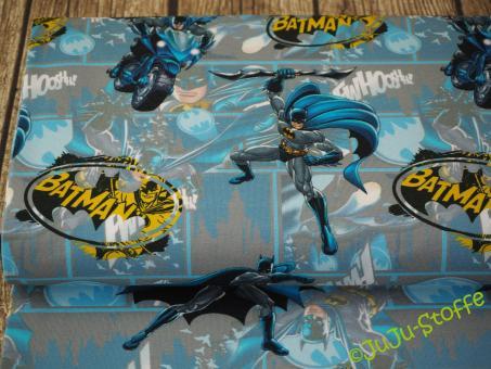 "Jersey ""Batman"" hellblau Öko-Tex"