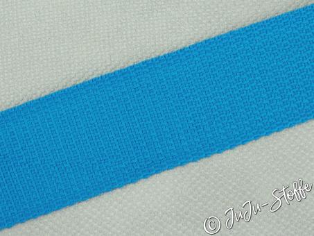 """Gurtband """"Basic"""" aqua 40mm"""