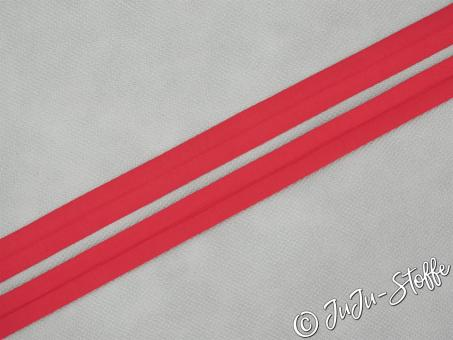 "Einfaßband ""Jersey"" rot 20mm, 3m Öko-Tex"