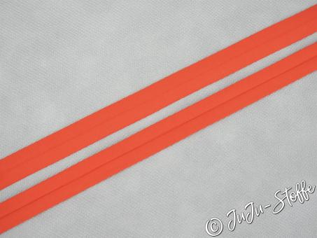 """Einfaßband """"Jersey"""" orange 20mm, 3m Öko-Tex"""