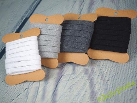 """Kordel-Paket """"Black & White"""" 12m"""