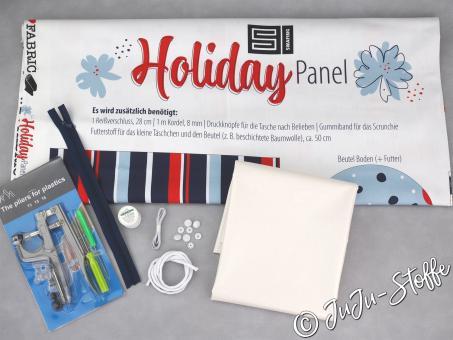 "Nähset ""Holiday Panel"""