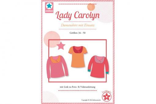 Papierschnittmuster Lady Carolyn von farbenmix