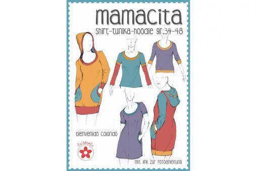 Papierschnittmuster Mamacita von farbenmix