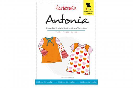 Papierschnittmuster Antonia von farbenmix