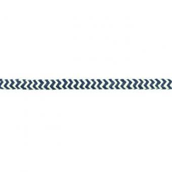 """Kordel """"Zick-Zack"""" navy, 10mm"""