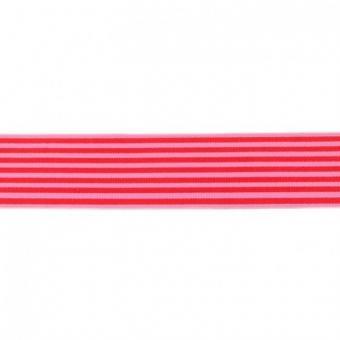 Gummi weich Streifen rot 40mm