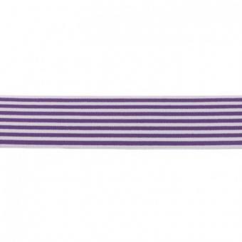Gummi weich Streifen violett 40mm