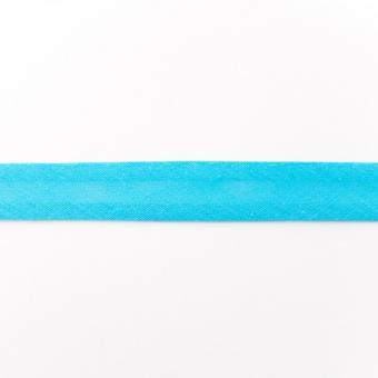Schrägband Baumwolle 3m aqua