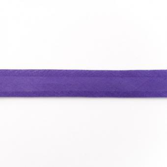 Schrägband Baumwolle 3m violett