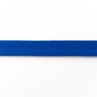 Schrägband Baumwolle 3m kobaltblau