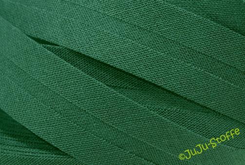 Schrägband Baumwolle 3m grün