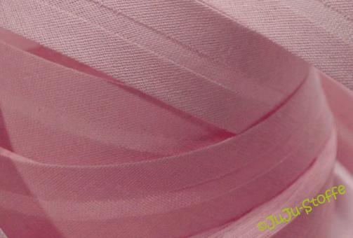 Schrägband Baumwolle 3m altrosa