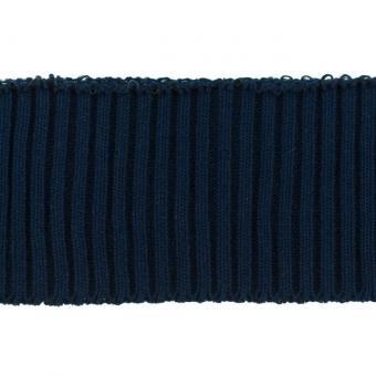 Bündchen Ripp-Cuff dunkelblau