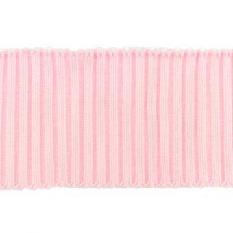 Bündchen Ripp-Cuff rosa