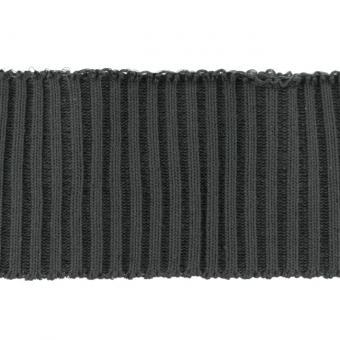 Bündchen Ripp-Cuff dunkelgrau