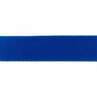 Gurtband Baumwolle kobaltblau 40 mm