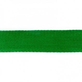 Gurtband Baumwolle grasgrün 40 mm