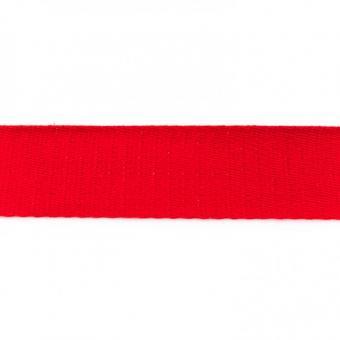 Gurtband Baumwolle rot 40 mm