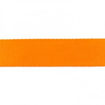Gurtband Baumwolle orange 40 mm